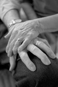mom & dad's hands Dec 2012